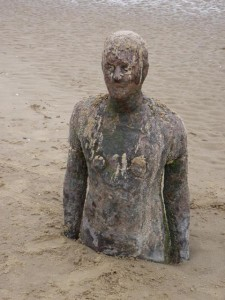 Antony Gormley statue