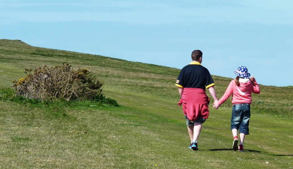 Walking the Tennyson Trail to The Needles