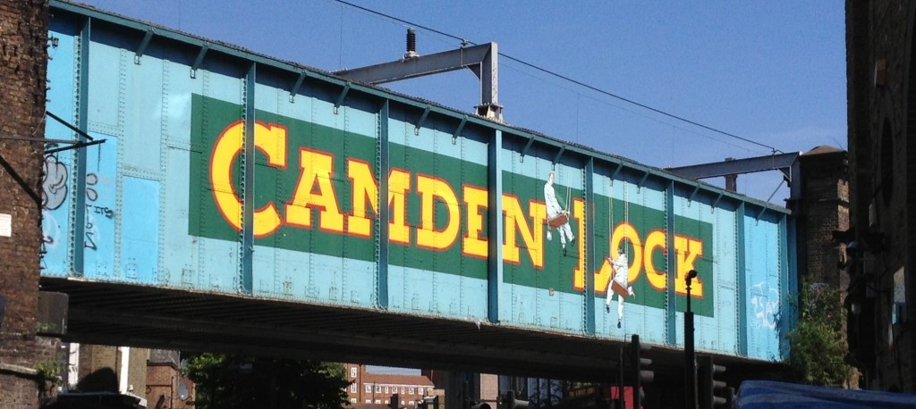 Camden Lock sign