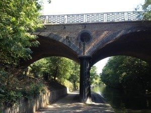 Blow up bridge, Regents Canal