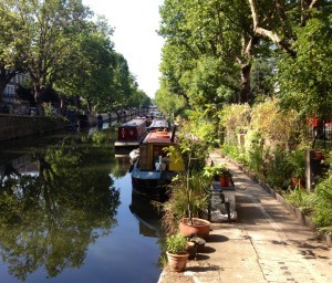 View along Regent's Canal