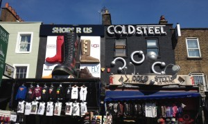 Shops in Camden High Street