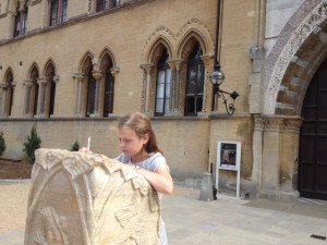 Start of Oxford spy trail