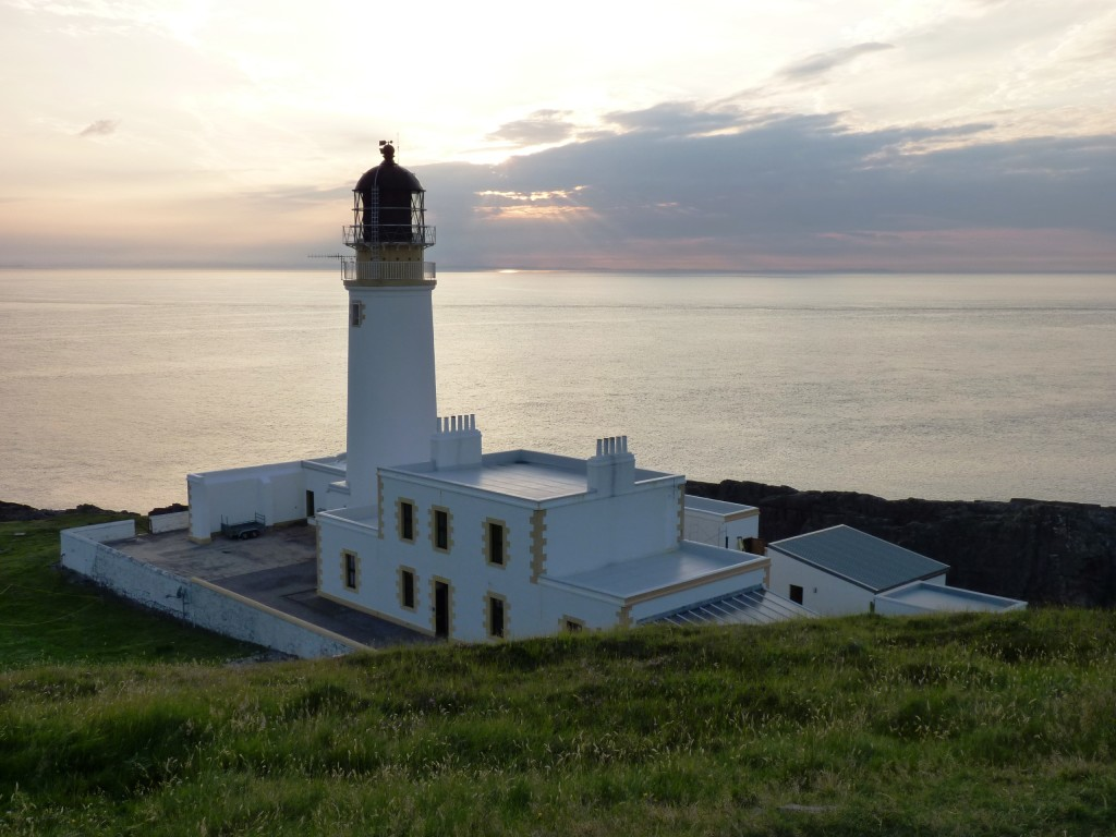 Sunset at Rua Reidh lighthouse