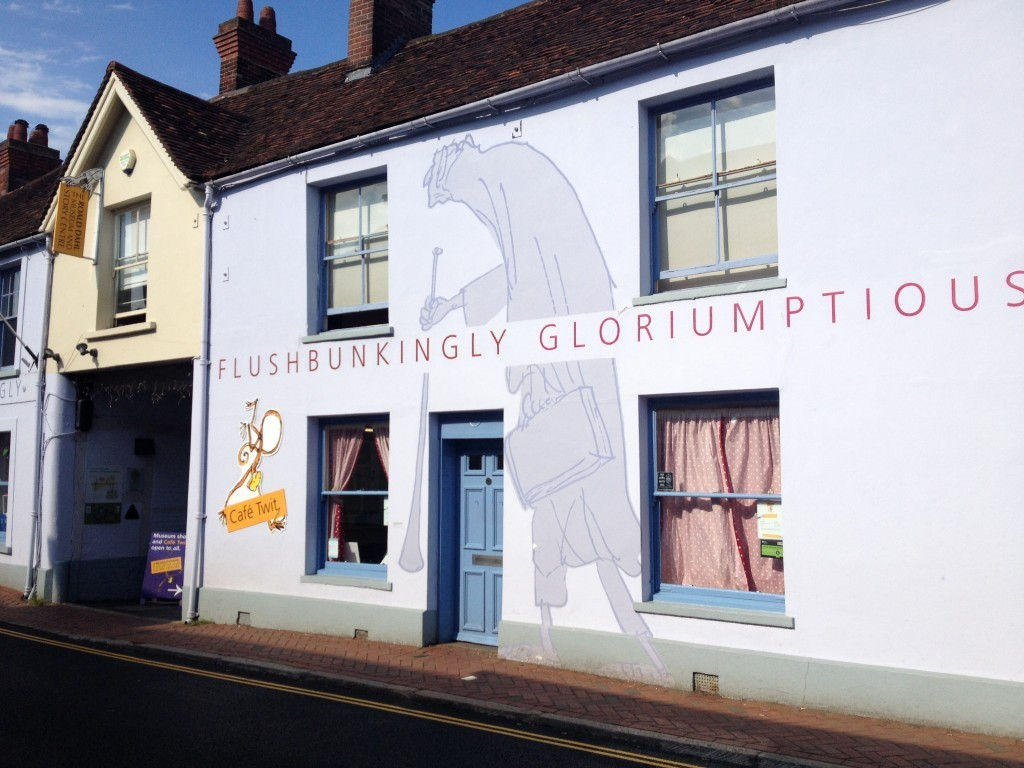 The Roald Dahl museum and Cafe Twit