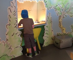 The Story Centre at Roald Dahl museum