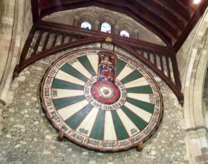 King Arthur's Round Table at the Great Hall, Winchester