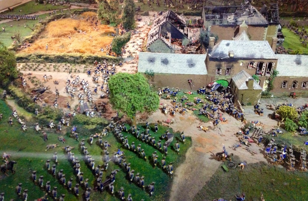 Model of the Napoleonic war, Royal Green Jackets museum