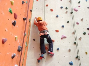 Beginners route at Reading Climbing Centre