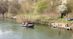 The Pooh stick recovery boat