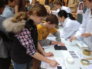 Finger printing, murder mystery at the museum