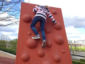 Climbing wall, Queen Elizabeth Olympic Park