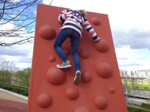 Climbing wall, Queen Elizabeth Olympic Park