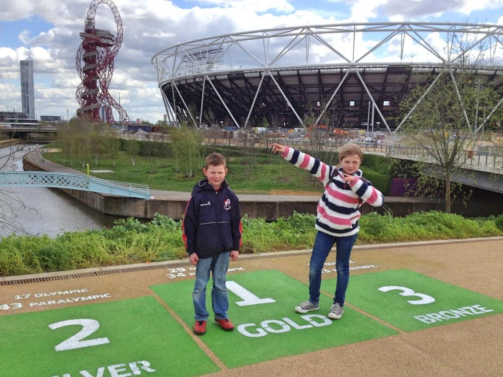 Podium, Queen Elizabeth Olympic Park