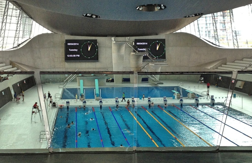 Queen elizabeth olympic park london a family day out - Queen elizabeth olympic park swimming pool ...
