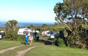 Sea view from Henry's campsite