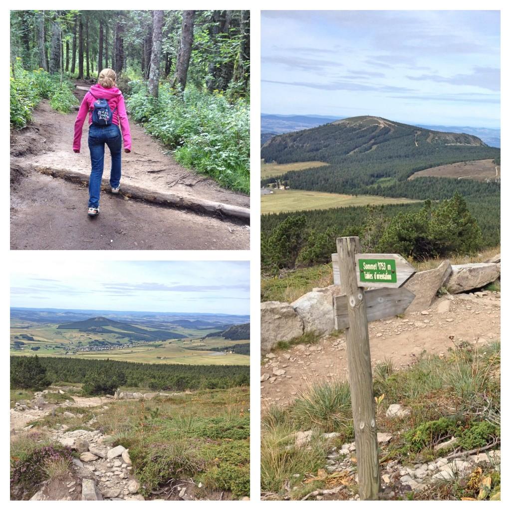 Walking up Mount Mezenc