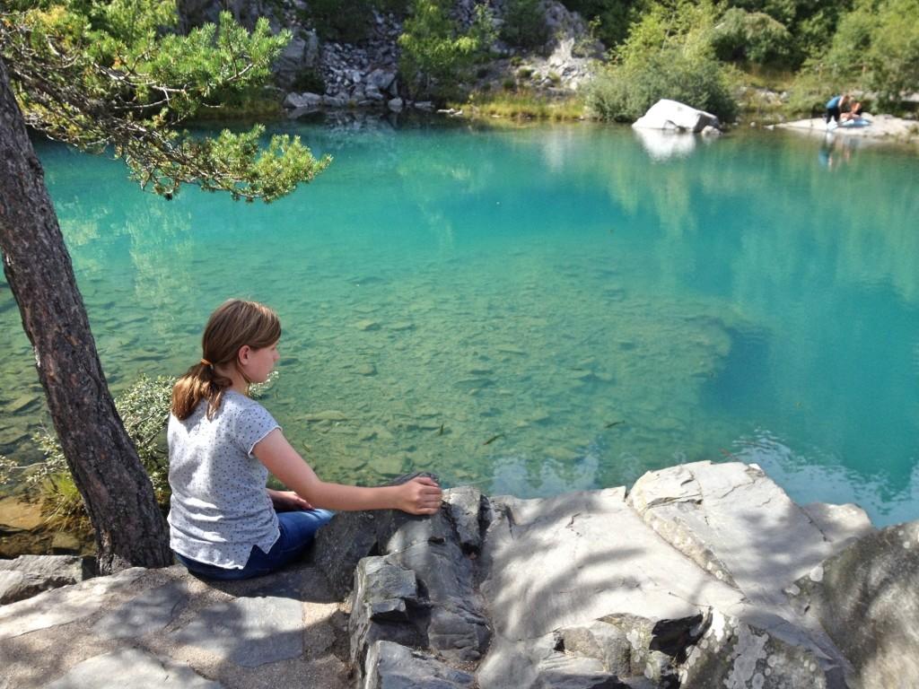 Lac Bleu, Les Balayés