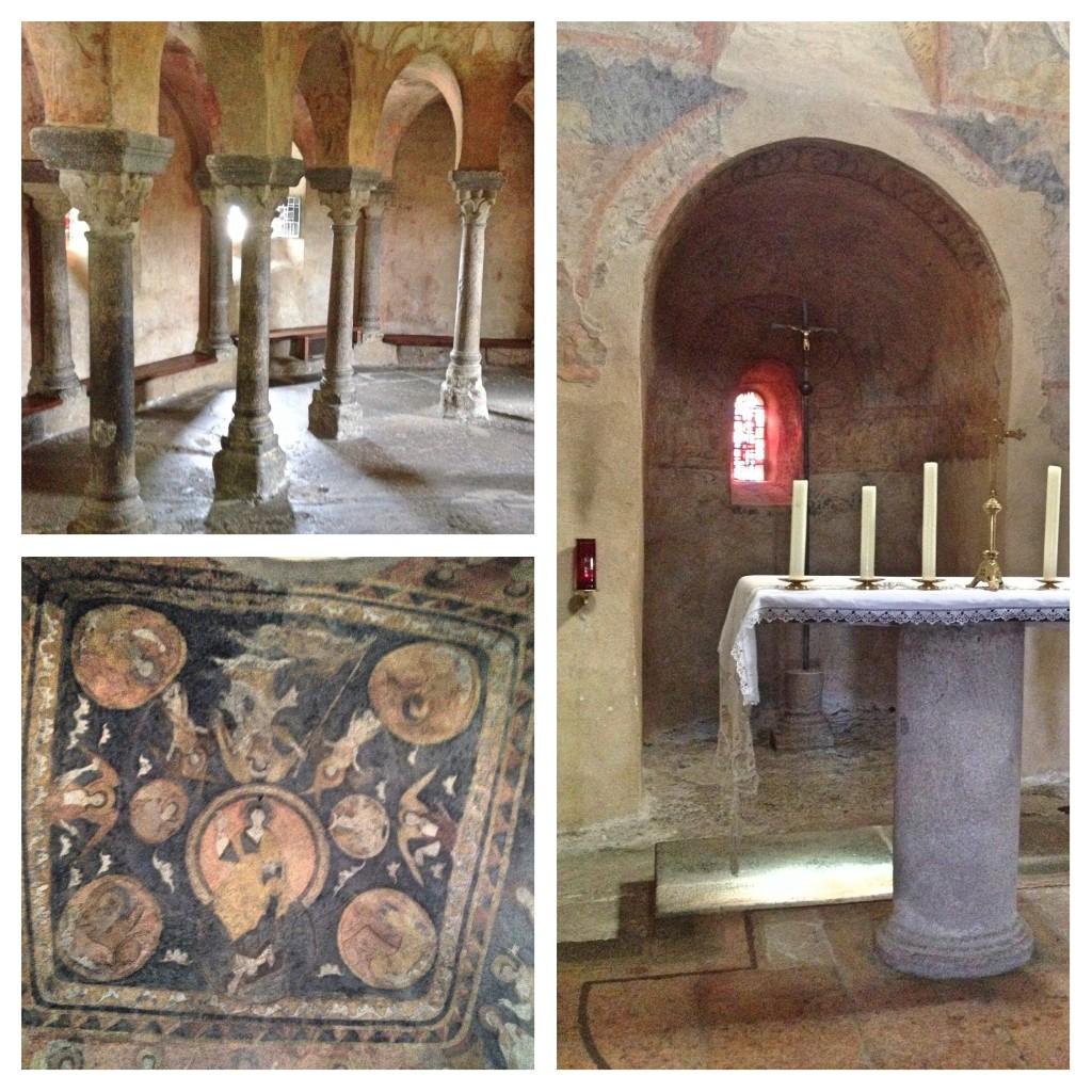 Inside the Chapelle Saint-Michel D'Aiguilhe