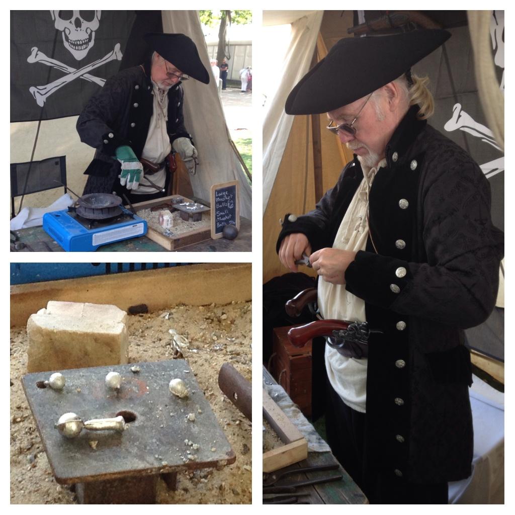 Making musket balls