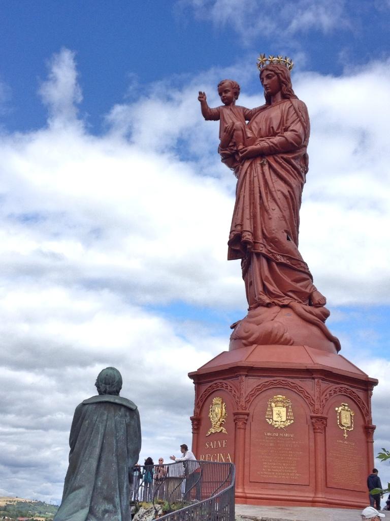 Statue Notre-Dame de France, Le Puy-en-Velay