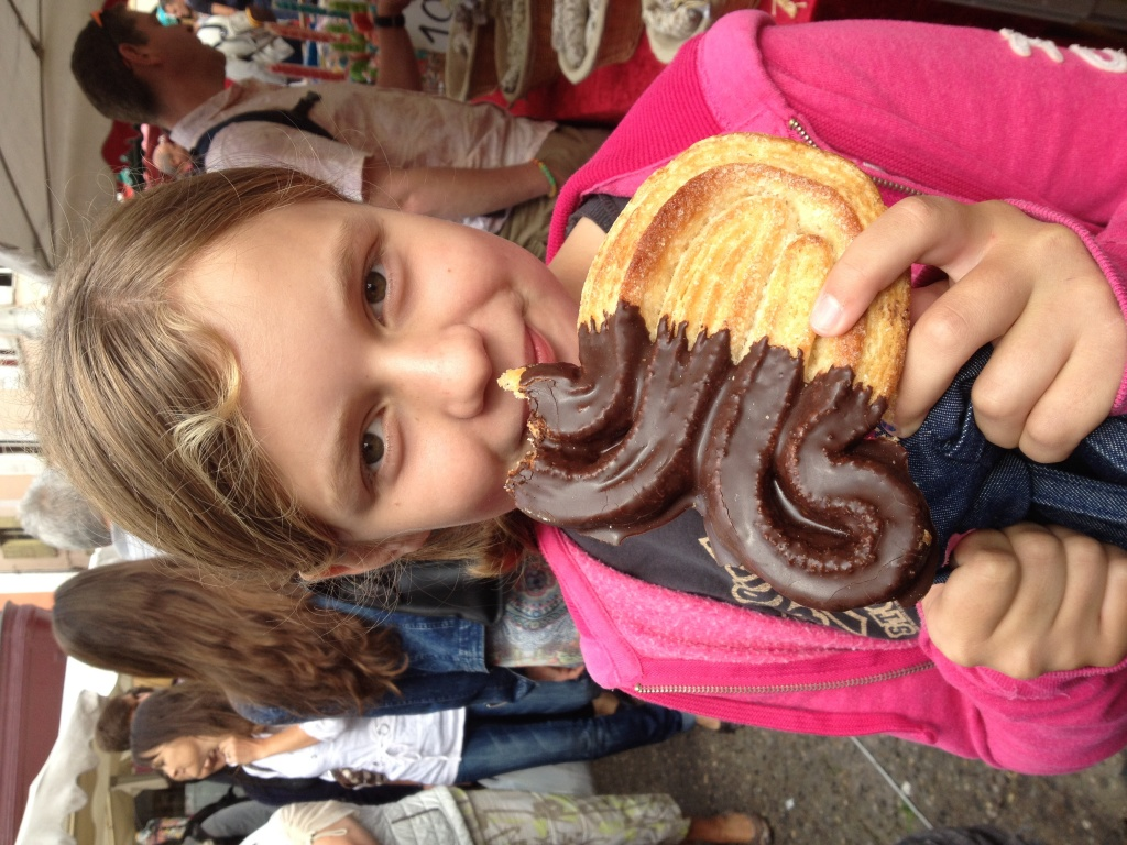 The best thing about Le Puy market!