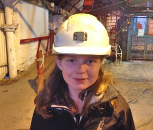 Ready to go down the mine, Big Pit