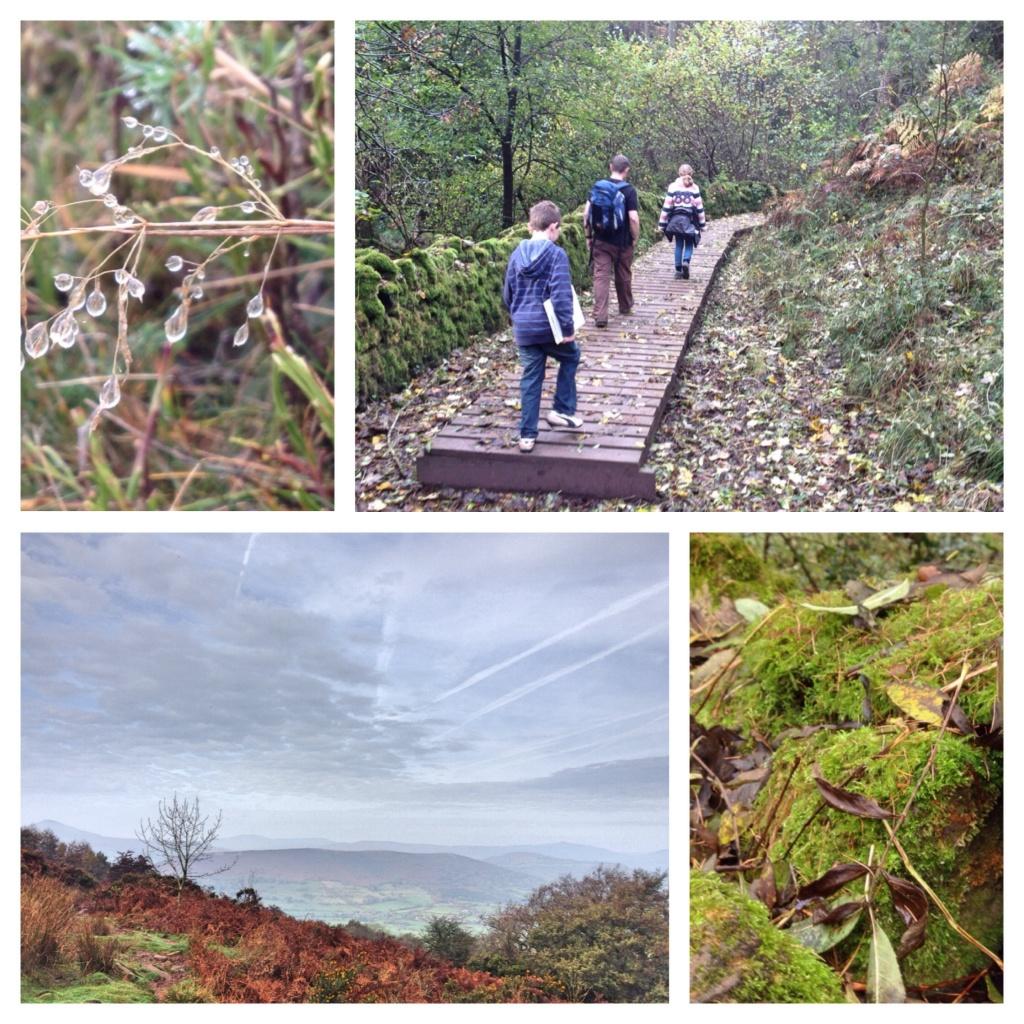 The walk up Skirrid Fawr