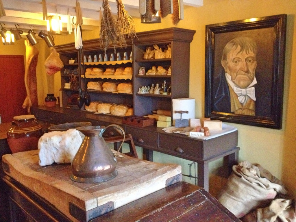 Inside the store, Blaenavon ironworks
