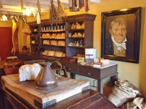 Inside the store, Blaenavon ironworks