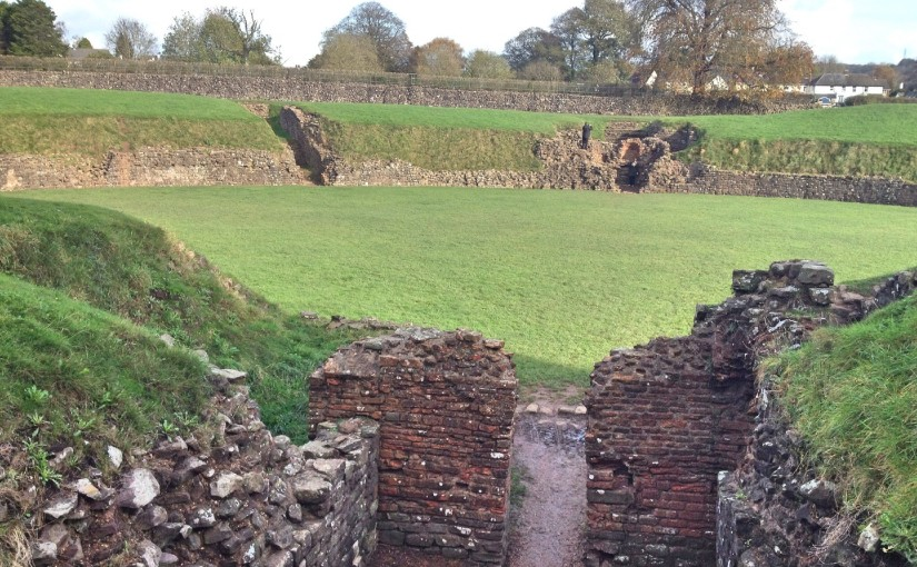 Exploring the Roman history of Caerleon, Newport