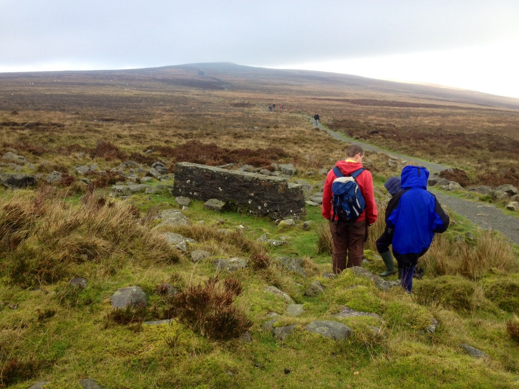 Towards the summit of Blorenge