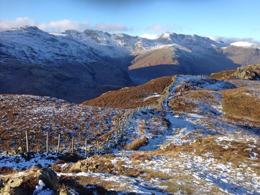 Walking over Lingmoor Fell