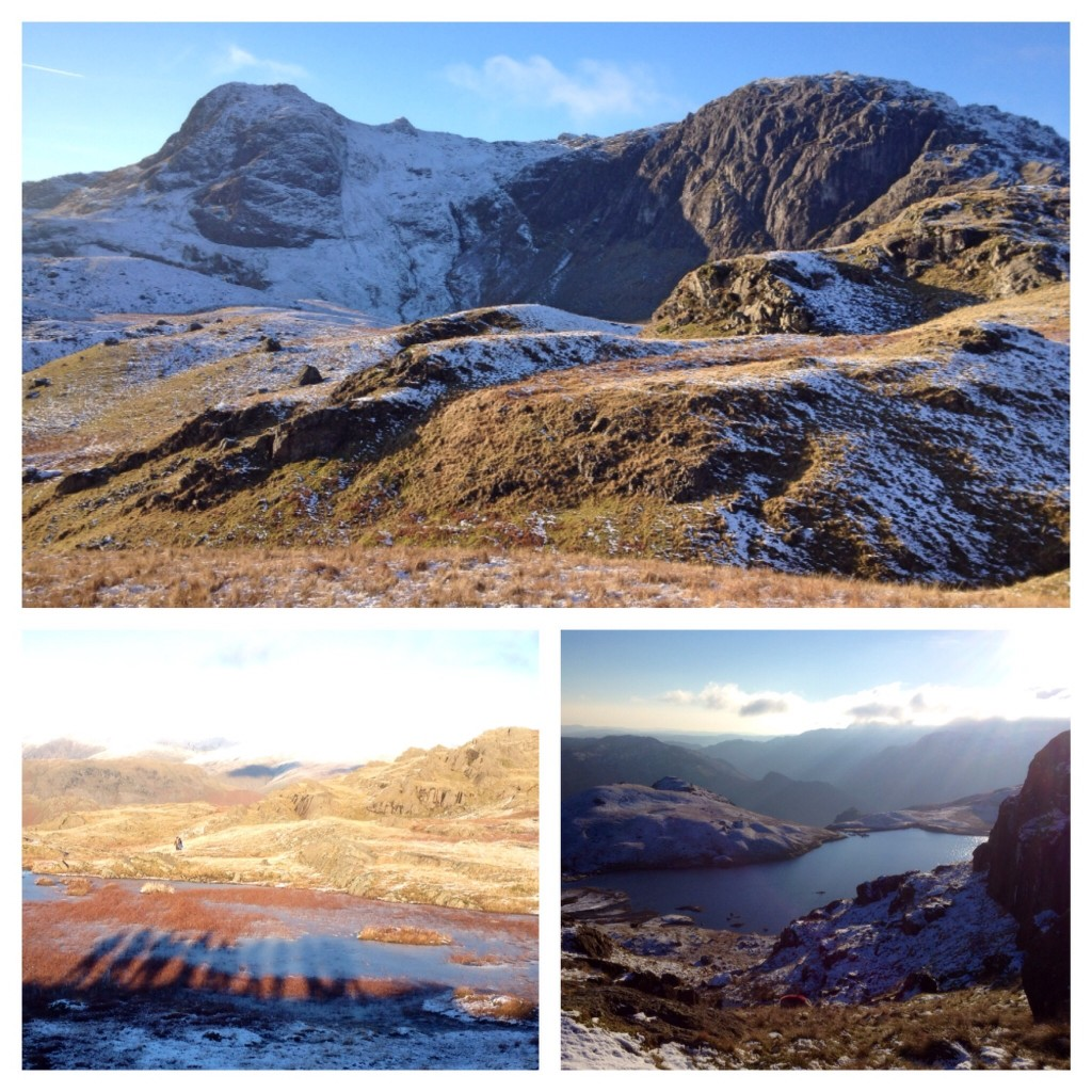 View of and from Harrison Stickle