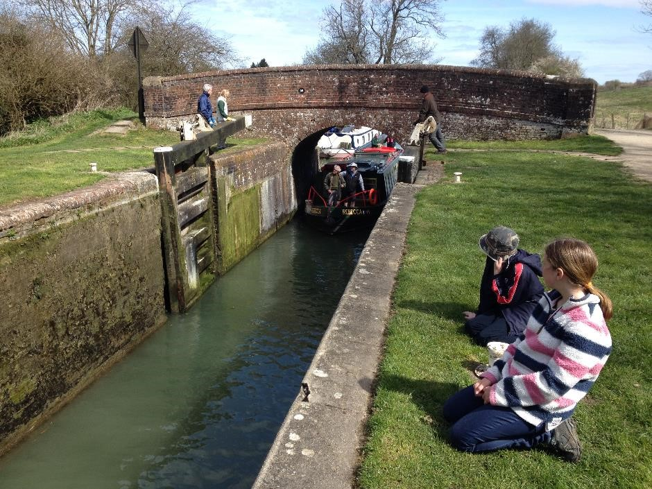 Kennet and Avon canal, Great Bedwyn