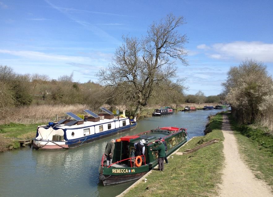Kennet and Avon canal, Great Bedwyn