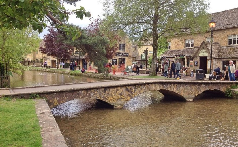 An amazing walk from Bourton-on-the-Water, Gloucs