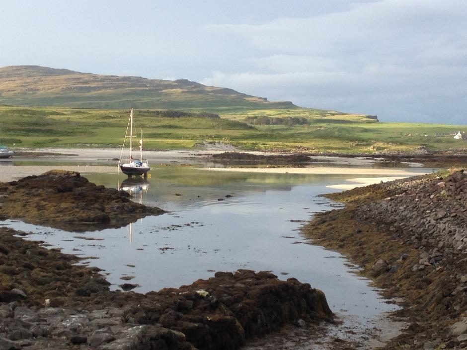 Glamisdale Bay, Isle of Eigg