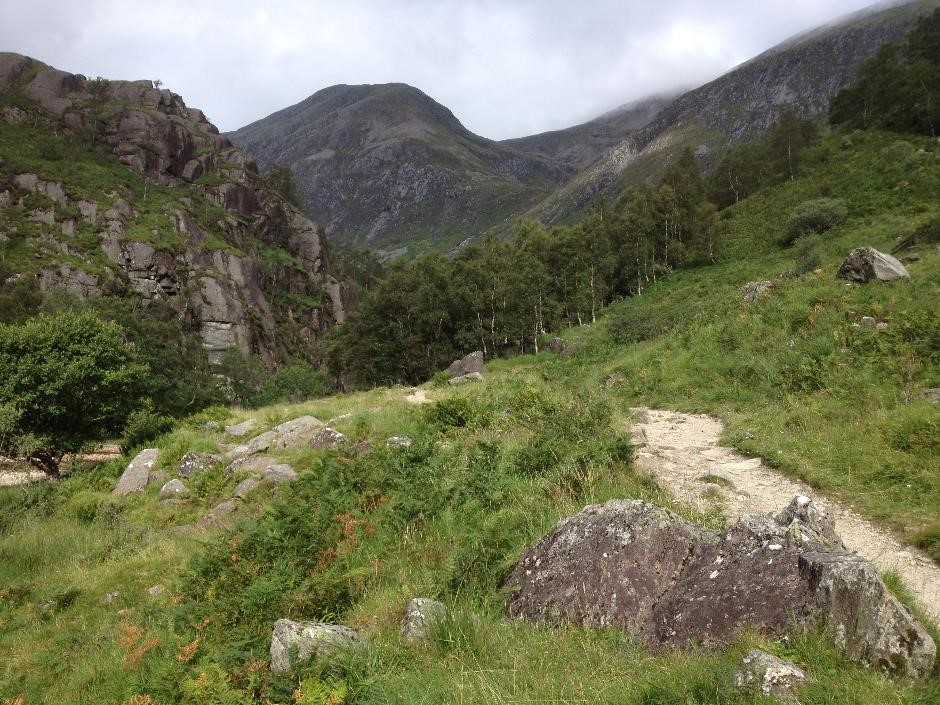 Walk to Steall waterfall