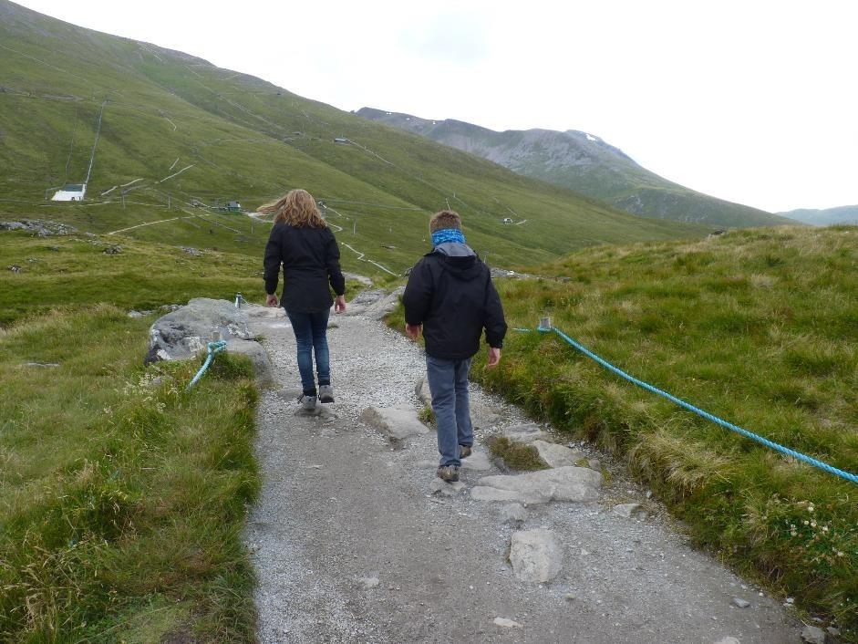 Sgurr Finnisg-aig viewpoint walk, Aonach Mor