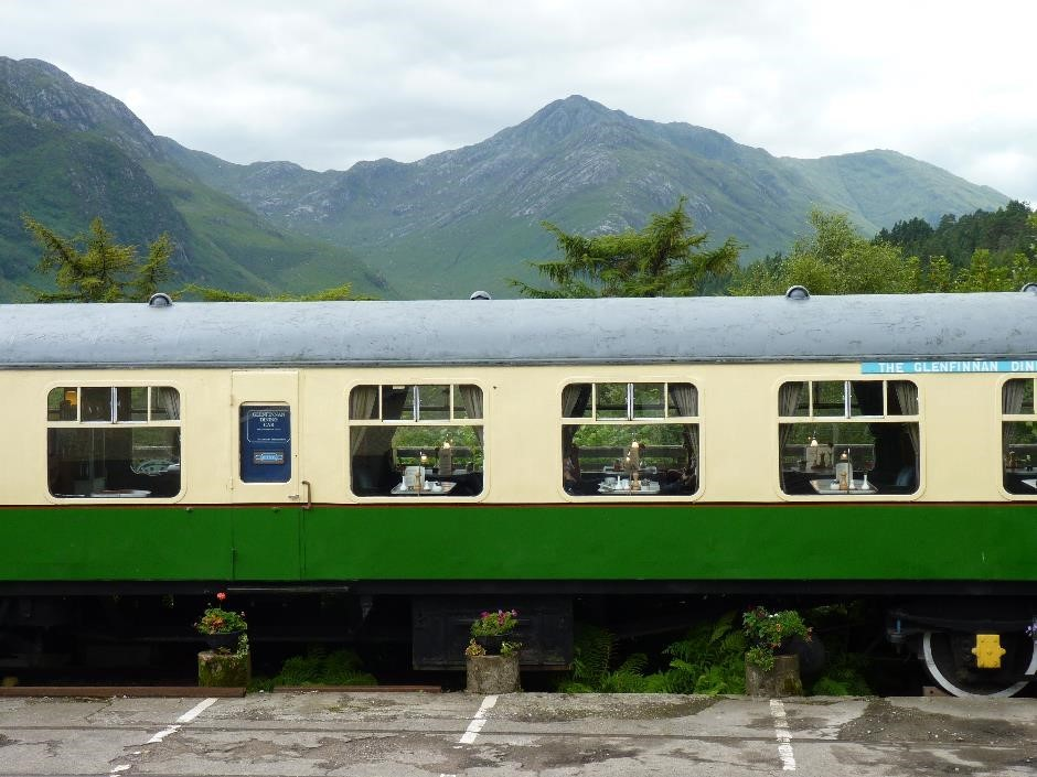 Glenfinnan dining car