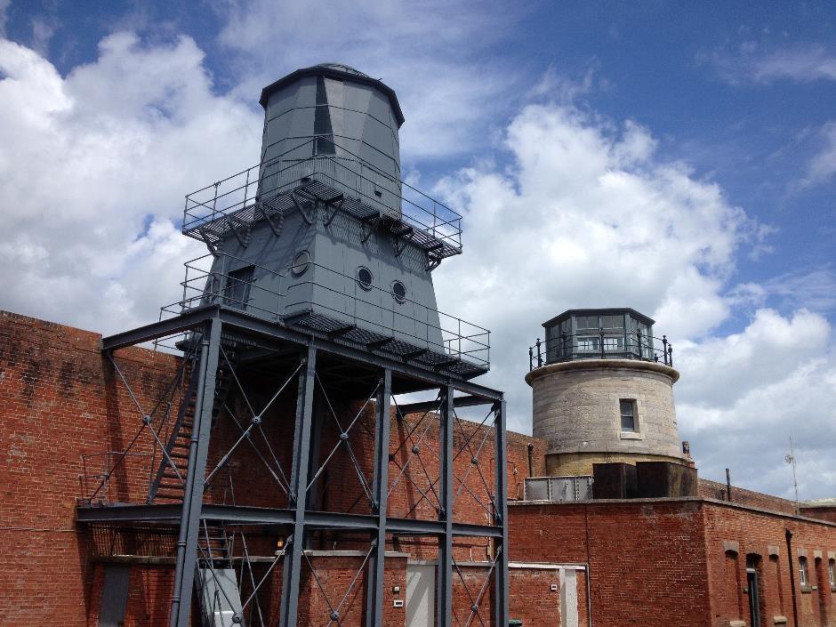 Old lighthouses, Hurst Castle