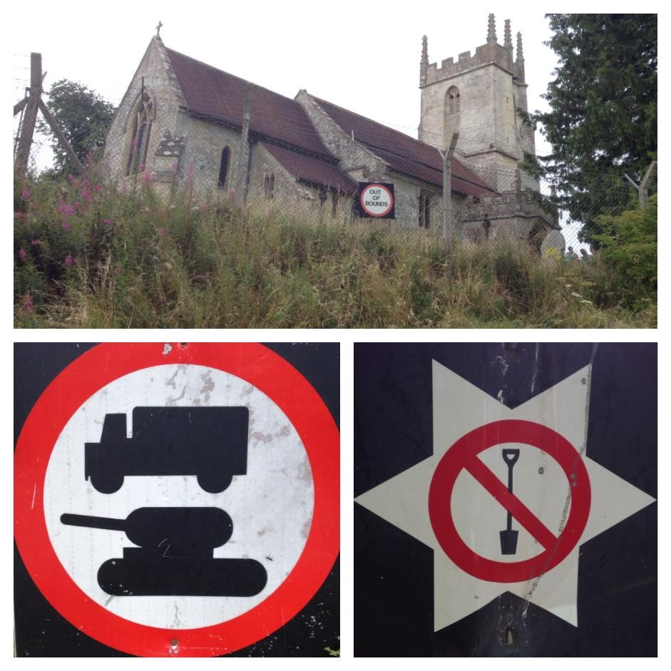 Salisbury Plain warning signs