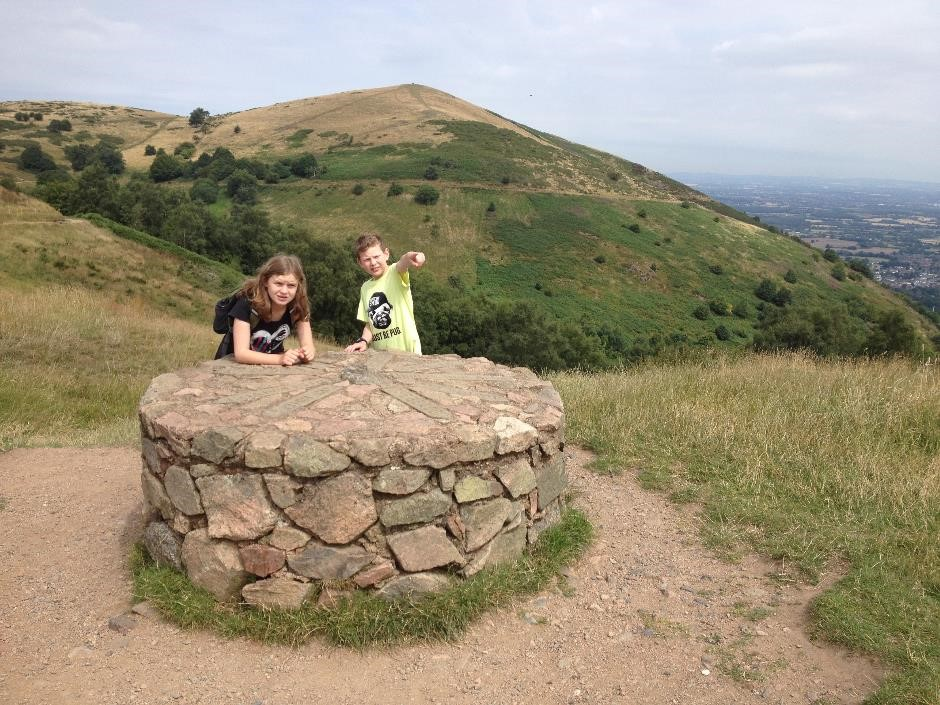 Malvern Hills viewpoint