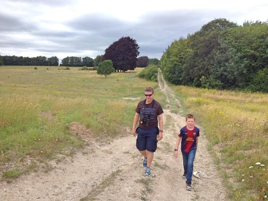 Tilshead Down ,Salisbury Plain