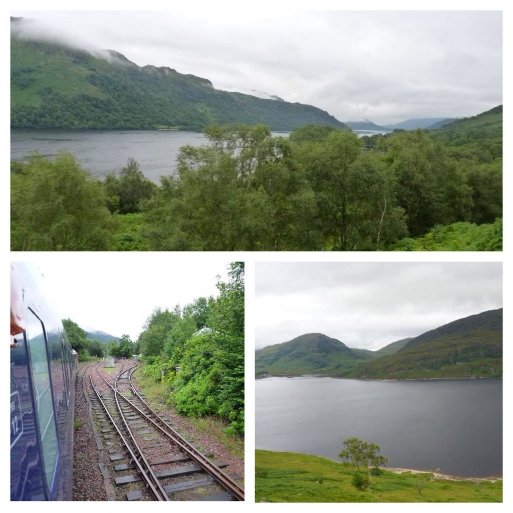 Views from the Caledonian Sleeper