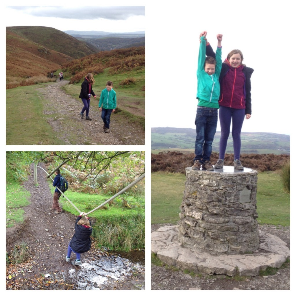 Walking on The Long Mynd