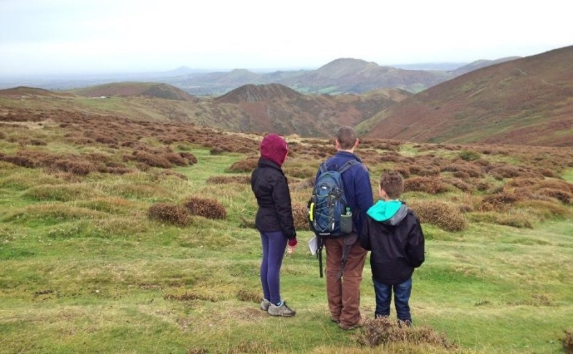 Family walks in the Shropshire Hills