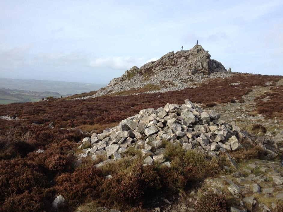 Walking the Stiperstones, Shropshire