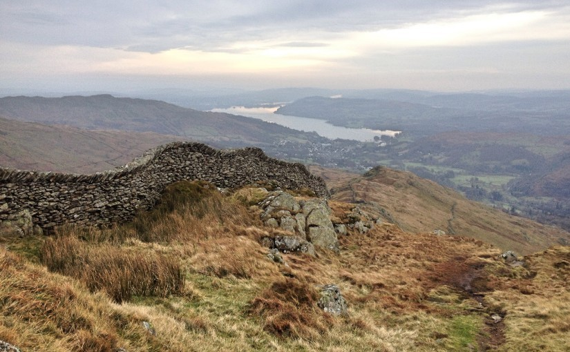View over Lake Windemere from Fairfield Horseshoe